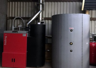Froling Small commercial biomass at Hill Top Farm