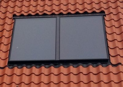 Thorney biomass wood pellet and solar thermal installation