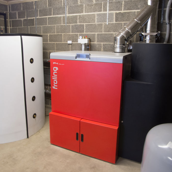 District Heating system from Cedar Renewables