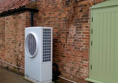 West Drayton, air source heat pump