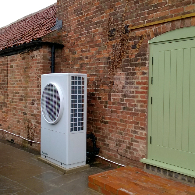 West Drayton, air source heat pump