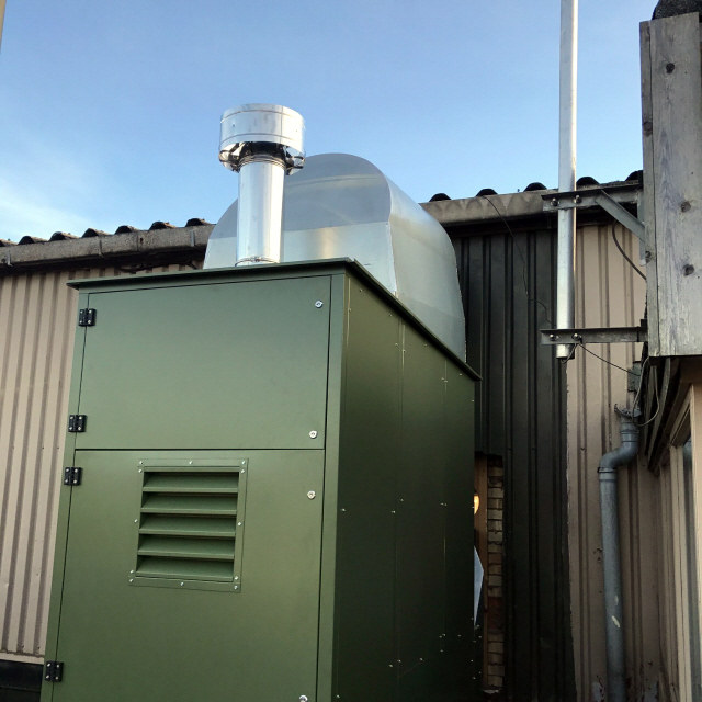 Commercial Heating solution for Lincolnshire Show Ground Exhibition Centre