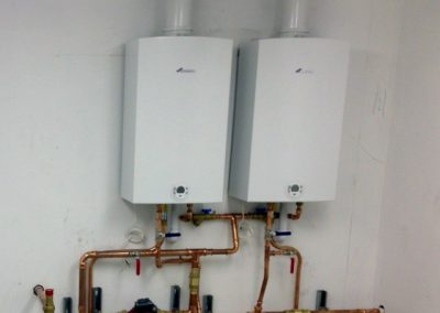 Worcester Bosch CSi47 Greenspring water heaters, at Mademoiselle Desserts