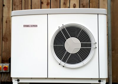 Stiebel Eltron Classic Air Source Heat Pump, for a renovated bungalow