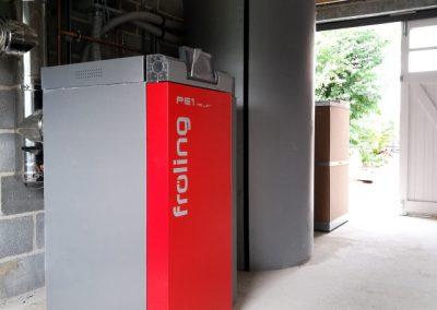 Froling PE1 Wood Pellet Boiler