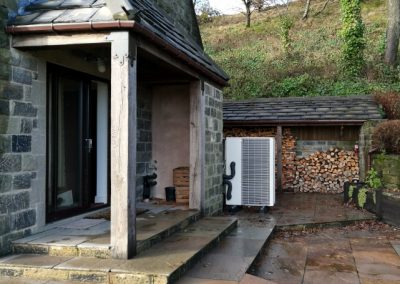 Grant VortexAir Air Source Heat Pump in the Peak District