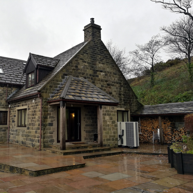 Grant VortexAir Air Source Heat Pump in the Peak District National Park